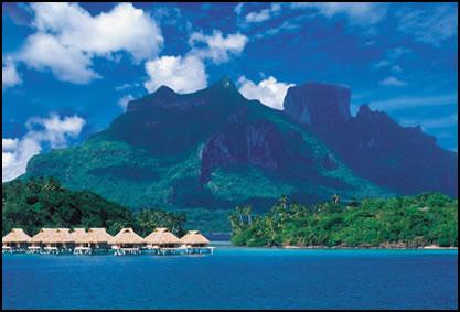 ...в тёплые места.Покрутив глобус вокруг оси, остановилась на острове Таити.Как Вам мой выбор.